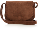 Elizabeth and James Zoe mini suede saddle cross-body bag