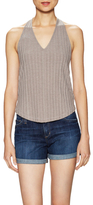 Free People Paige Ribbed V-Neck Tank