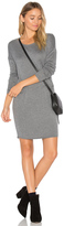 Bella Luxx Cashmere Blend Trapezoid Dress