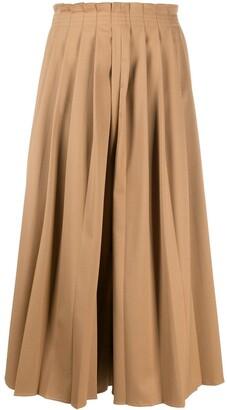 MM6 MAISON MARGIELA Pleated Wide-Leg Trousers