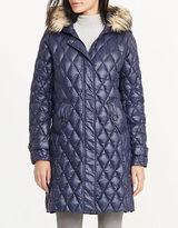 Lauren Ralph Lauren Packable Quilted Faux-Fur Hood Down Jacket