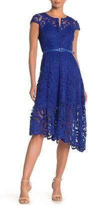 Nanette Nanette Lepore Cap Sleeve Lace Dress