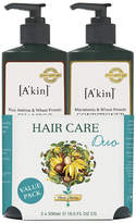 Akin A'kin Rice Aminos & Wheat Protein Shampoo & Macadamia & Wheat Protein Conditioner Duo 500ml