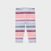 Paul Smith Baby Girls' Pastel-Stripe 'Minette' Leggings