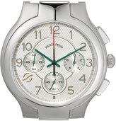 Philip Stein Teslar Large Classic Chronograph Watch Head, Silver