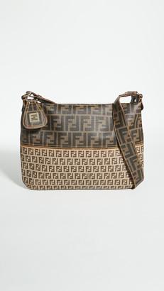 Shopbop Archive Fendi Zucca Zucchino PVC Shoulder Bag