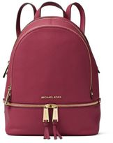 MICHAEL Michael Kors Rhea Middle Leather Backpack