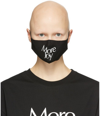 More Joy Black Logo Mask