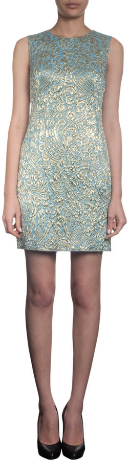 Dolce & Gabbana Brocade Shift Dress