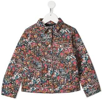 Bonpoint TEEN floral-print jacket