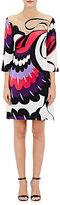 Alberta Ferretti WOMEN'S SATIN SHIFT DRESS