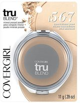 Cover Girl truBlend Pressed Blendable Powder, Translucent Light .39 oz (11 g)