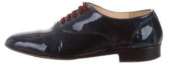 Christian Louboutin Patent Leather Oxfords