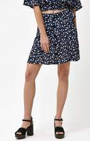 MinkPink Shady Days Button Front Skirt