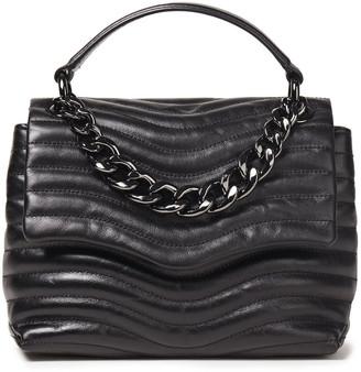 Rebecca Minkoff Chain-embellished Quilted Leather Shoulder Bag