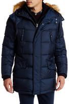 Andrew Marc Hancock Faux Fur Trimmed Quilted Jacket