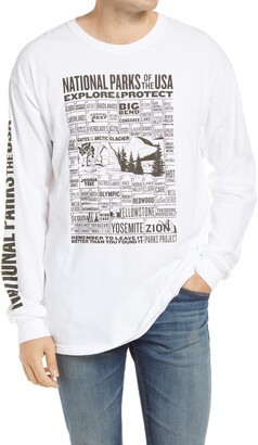 Parks Project National Parks of the USA Long Sleeve Graphic Tee