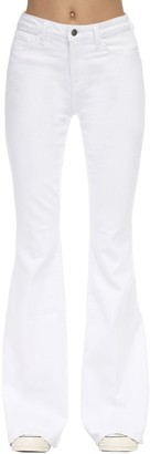 L'Agence Solana Big Flared High Rise Jeans