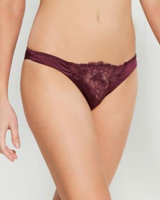 Cotton Club Brazilian Silk-Blend Bikini Panty