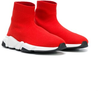 Balenciaga Kids Speed sock sneakers