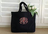 Etsy Personalized tote bag, monogrammed tote bag, bridesmaid tote bag, wedding tote, bridesmaid gift bag,