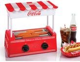 Nostalgia Coca-Cola Series Hot Dog Roller