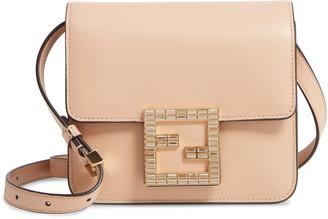 Fendi Fab Leather Crossbody Bag
