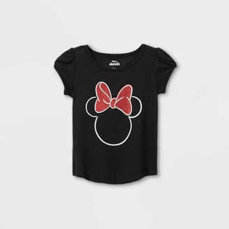 Disney Toddler Girls' Minnie Mouse Short Sleeve Graphic T-Shirt -