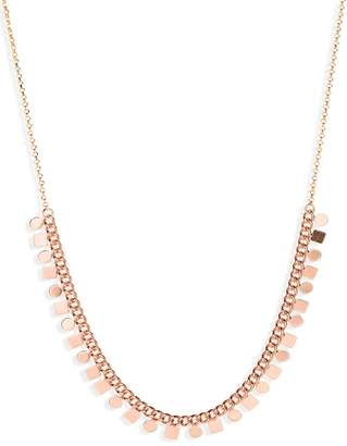 Serefina Sultry Geometric Disc Necklace