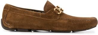 Salvatore Ferragamo Gancini penny loafers
