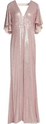Temperley London Stardust Sequin-embellished Satin Gown