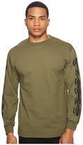 HUF Baser Long Sleeve Tee Men's T Shirt
