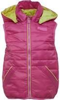 Puffa Girls Lightweight Gilet Phlox Pink