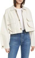 Baum und Pferdgarten Brooklynn Crop Cotton & Linen Jacket