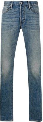 Tom Ford mid-rise slim fit denim jeans