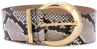 B-Low the Belt Snake-Effect Belt