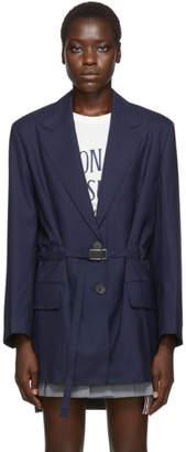 MAISON KITSUNÉ Blue Masculine Blazer