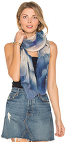 Marc Jacobs Clouds Stole Scarf in Blue.