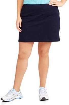 Danskin Women's Plus-Size Basic Skort