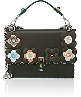 Fendi Women's Kan I Leather Shoulder Bag - Green