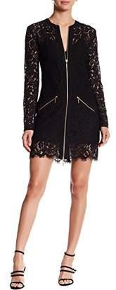 Rachel Zoe Women's Jenette Lace Zipper Dress