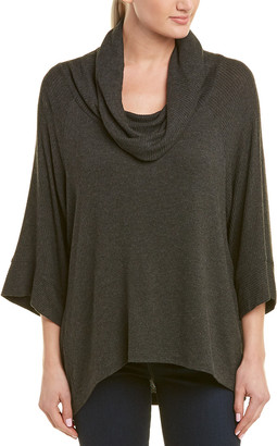 Three Dots Oversized Cowl Neck Sweater Top