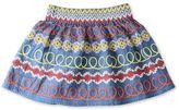 Stella McCartney embroidered nat skirt
