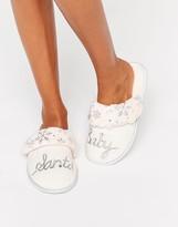 Asos NOVA Santa Baby Slippers