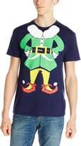 Body Rags Men's Elf Man Ugly Christmas T-Shirt