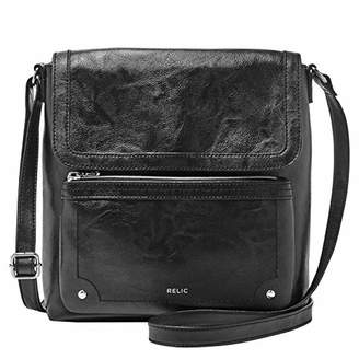 Fossil Relic by Evie Flap Crossbody Handbag
