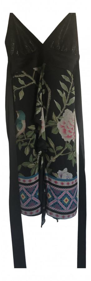Matthew Williamson Black Silk Dresses