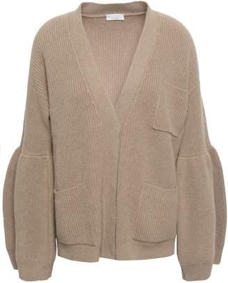 Brunello Cucinelli Ribbed-knit Cashmere Cardigan