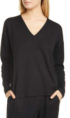 Eileen Fisher Silk Blend Pullover
