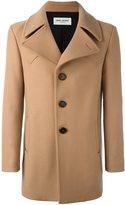 Saint Laurent single breasted coat